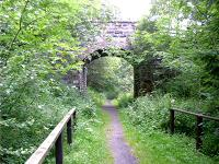 Bridge 515 south of Aberlour on old Speyside Line.<br><br>[John Gray //]