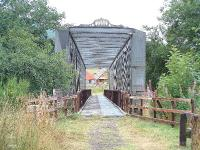Ballindalloch Girder Bridge on old Speyside Line now part of the Speyside Way.<br><br>[John Gray //]