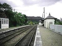 Arisaig station viewed from its north end.<br><br>[Garth Ponsonby //]