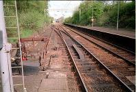Looking west at the ROF Bishopton line branching off.<br><br>[Ewan Crawford //]