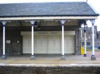 Detail from the up platform at Broughty Ferry station in August 2006.<br><br>[John Furnevel 13/08/2006]
