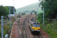 A 92 heads south past Abington with absolutely no coal imported through Hunterston. Yet still it runs ...<br><br>[Ewan Crawford 29/09/2006]