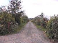 Track bed from Balado looking west towards Crook Of Devon.<br><br>[Brian Forbes /09/2006]