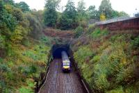 Since my last visit to this spot the rolling stock has been entirely renewed. The arrival of a train is not preceded by smoke erupting from the tunnel.<br><br>[Ewan Crawford 28/10/2006]