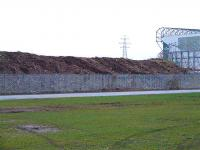 The former Switchback line at London Road in February 2007... notice that all the vegetation and trees have been removed.. the land is to be part of the Glasgow 2014 Commonwealth Games Velodrome complex.<br><br>[Colin Harkins 10/02/2007]