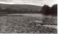 The River Dee at Cambus.<br><br>[Ken Strachan //1976]
