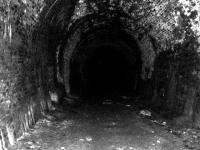 Black and White image of the tunnel.<br><br>[Colin Harkins 22/04/2007]