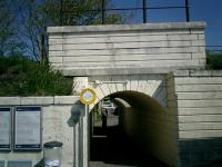 Pedestrian access to Craigendoran Station under WH line.<br><br>[Alistair MacKenzie 30/04/2007]