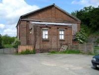 The former LNWR goods shed at Builth Road in May 2007.<br><br>[John McIntyre /05/2007]