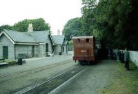 No 11 waits at Castletown in July 1996 with a service for Douglas. <br><br>[John McIntyre /07/1996]
