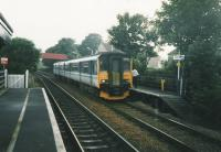 Down train calls at Balmossie in July 1998.<br><br>[David Panton /7/1998]
