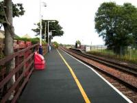 View from the eastbound platform at Balmossie on 19 September 2007.<br><br>[David Panton 19/09/2007]