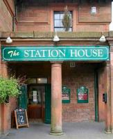 The Station House Annan on 21 May 2008, now a pub/restaurant. <br><br>[John Furnevel 21/05/2008]