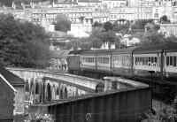 Class 50 no 50047 departs east from Bath on 29 June 1974.<br><br>[John McIntyre 29/06/1974]