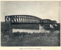 Great Siberian Railway between Vladivostock and St Petersburg and eventually Murmansk. Bridge over River Ufa. [Extract from GSR Guide of 1900]<br><br>[Alistair MacKenzie //2009]