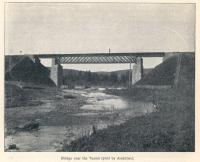 Great Siberian Railway between Vladivostock and St Petersburg and eventually Murmansk. Bridge over River Tesma. [Extract from GSR Guide of 1900]<br><br>[Alistair MacKenzie //2009]