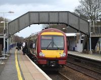 Bishopbriggs to Kirkintilloch and Gartshore. Lenzie Railway Station Photo 3