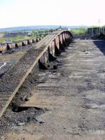 View facing Rutherglen. Central support in still in place<br><br>[Colin Harkins 02/05/2009]