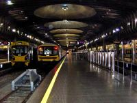 A quiet scene at Britomart railway station, Auckland, New Zealand in March 2008.<br><br>[Brian Smith 23/03/2008]