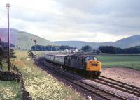 A northbound train at Abington behind an EE Type 4 in July 1970.<br><br>[Colin Miller /07/1970]