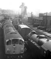 A motley collection - photographed at Carnforth in 1968.<br><br>[David Spaven //1968]