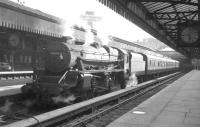 Black 5 no 44998 stands at Glasgow's Buchanan Street station c 1964.<br><br>[K A Gray //1964]