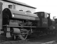 One of the five original Kitson 0F 0-4-0STs built in 1932, no 47001, stands on 41D Canklow shed on 13 March 1966 around the time of its official withdrawal.<br><br>[David Pesterfield 13/03/1966]
