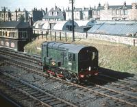 D3731 at Craigentinny in September 1959.<br><br>[A Snapper (Courtesy Bruce McCartney) 30/09/1959]
