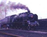 Looking as if it is heading for Paris at full speed, but actually on the demonstration line at Steamtown, is SNCF 231 K 22. This Pacific dated from 1920 and had worked until 1966. At this time it was owned by the late Dr Peter Beet, who rescued many steam locomotives, but it subsequently moved to a German heritage line.<br><br>[David Hindle //1976]