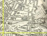 Map showing LNER Leith Walk East Goods Station 1925 see image [[24397]].<br><br>[Alistair MacKenzie 05/02/2011]