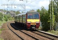320304 approaches Bowling station with a westbound service on 30 <br> May 2011.<br> <br><br>[John McIntyre 30/05/2011]