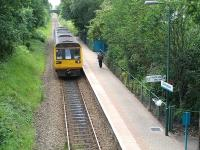 142010 runs into Birchgrove station on 8 June returning to Radyr with the 15.45 service from Coryton. <br><br>[David Pesterfield 8/06/2011]