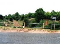 The sign at Lutterworth says 'all routes' - but I can only see one - to Marylebone. Bit of a comedown really - intended as a through route from Manchester to Paris, now apparently used as a BMX track.<br><br>[Ken Strachan /06/2010]