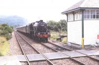 44767 arriving at Arisaig from Fort William in July 1994.<br><br>[John Gray //]