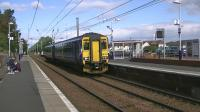 Super Sprinter no 156513 runs through Barassie with 1K95, a non stop service from Glasgow Central to Stranraer via Kilwinning and Irvine<br><br>[Ken Browne 26/09/2012]
