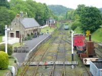 View over the station at Beamish in June 2013.<br><br>[Veronica Clibbery 11/06/2013]