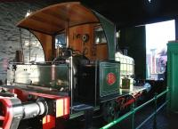 The much changed no 18 in the locomotive shed at Beamish in November 2013 [see image 41504].<br><br>[John Furnevel 07/11/2013]