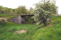 Bridge over the Waverley trackbed just north of Belses on 20 May 2014. <br><br>[Bruce McCartney 20/05/2014]