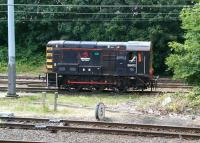Wabtec 08472 at the west end of the yard at Craigentinny on 5 August 2014. <br><br>[John Furnevel 05/08/2014]