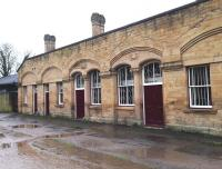 The old station at Bakewell on a damp 3 January 2015.<br><br>[Bruce McCartney 03/01/2015]