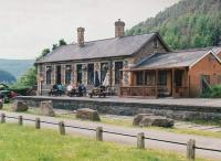 The stone-built station at Cymer - which saw DMU services until about 1970 - is now very well kept as a rather pleasant pub. There were some fascinating pictures of Hafodyrynys and other South Welsh coal mines on the walls when I visited. See image [[49912]]<br><br>[Ken Strachan 31/05/2010]
