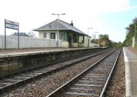 Arisaig station on 27 September 2005 looking west.<br><br>[John Furnevel 27/09/2005]