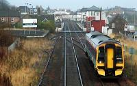 Southbound service passing Carnoustie.<br><br>[Ewan Crawford //2005]