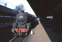 Perth based Black 5 no 44722 shortly after arrival at Buchanan Street on 25 March 1964.<br><br>[John Robin 25/03/1964]