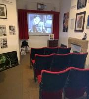 The  film <I>'Brief Encounter'</I> seems to be playing continuously at this mini-cinema in the museum in the Carnforth station building. My wife assures me that the seats are very comfortable.<br><br>[Ken Strachan 28/01/2015]