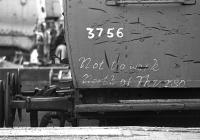 Restricted movement. Seen at Bewdley, SVR in 1976.<br><br>[Bill Roberton //1976]