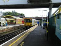 Here at Aintree the signs saying 'Alight here for Aintree' are, can I suggest, superfluous. An Ormskirk service calls on 29/06/2016.<br><br>[David Panton 29/06/2016]