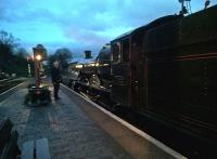 Bradley Manor prepares to go gently into the night, in the general direction of Kidderminster.<br><br>[Ken Strachan 18/03/2017]
