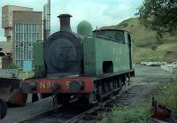 No 9 rests at Bedlay Colliery. This locomotive can now be found at the Summerlee Museum.<br><br>[Andy Kirkham //]