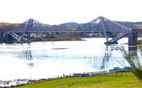 Connel Ferry Bridge from the north shore looking west in April 2005.<br><br>[John Furnevel 15/04/2005]